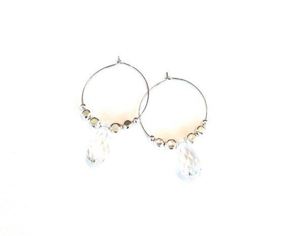 blank-sølv-øreringer-ørepynt