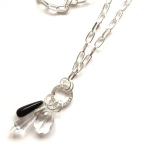 sort-bling-tøff-smykke-kraftig-halskjede
