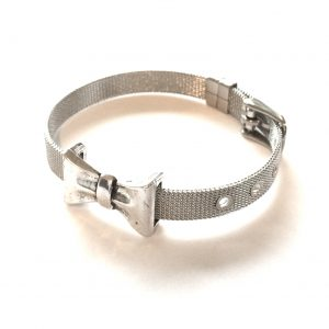 stål-sløyfe-armbånd