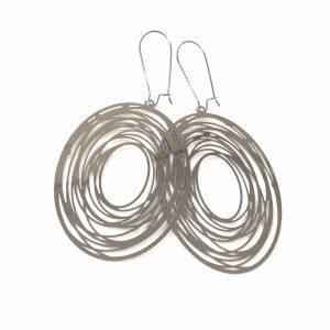 spiral-stål-ørepynt-øreanheng