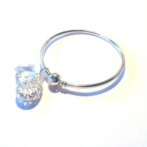 sølv-glass-armbånd