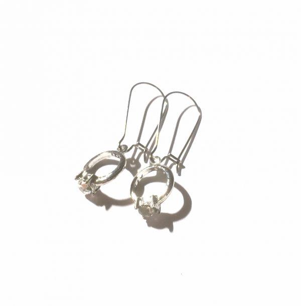 morsom-sølv-ring-ørepynt-øreanheng
