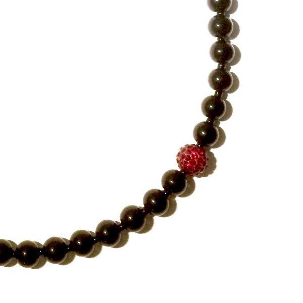 sort-rød-bling-glitter-statement-tøff-jul-smykke