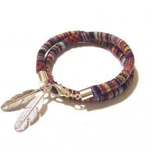 bohem-indianer-fjær-armbånd
