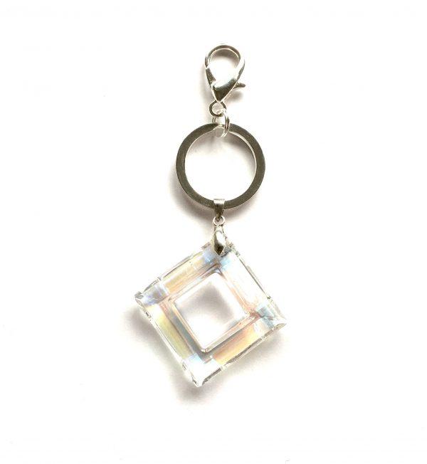 blank-glass-sølv-nøkkelring