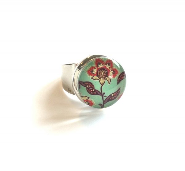 retro-blomst-justerbar-onesize-glass-ring
