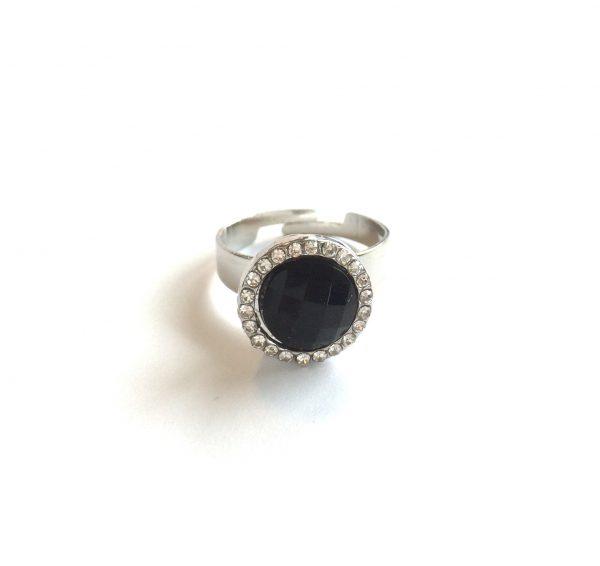 sort-elegant-justerbar-ring