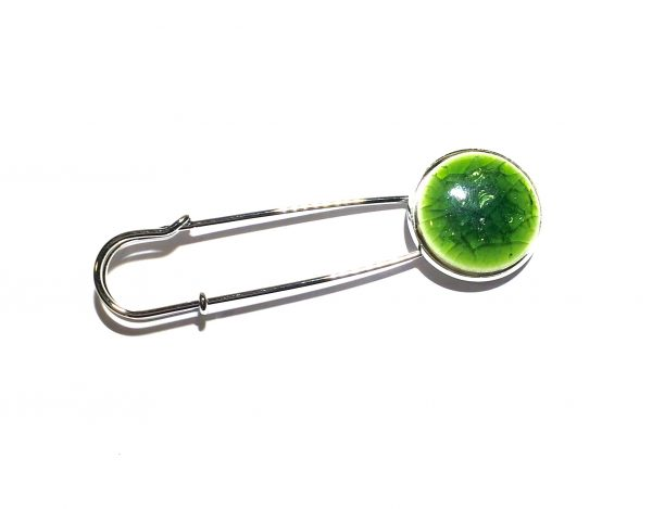 grønn-keramikk-nål