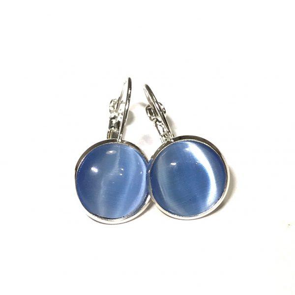 blå-sølv-øreanheng-ørepynt
