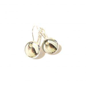 ugle-sølv-ørepynt-øreanheng
