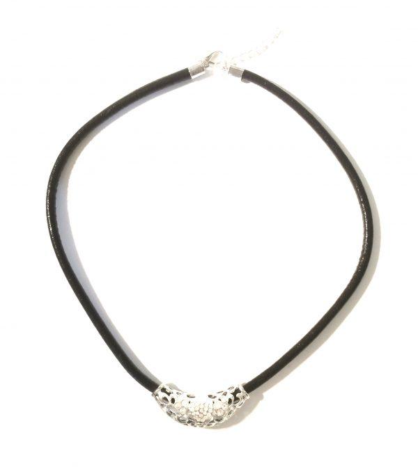 sort-lær-sølv-smykke