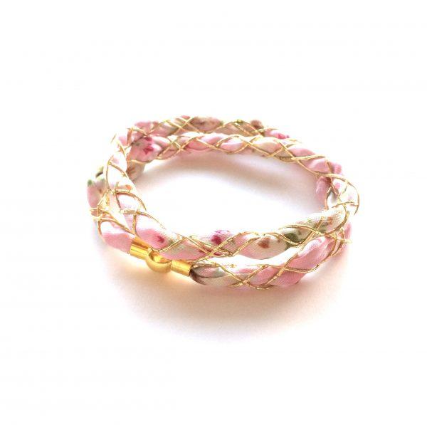 rosa-gull-søtt-armbånd