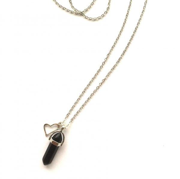 sort-blackstone-stein-smykke-halskjede