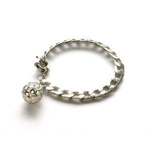 kraftig-sølv-armbånd