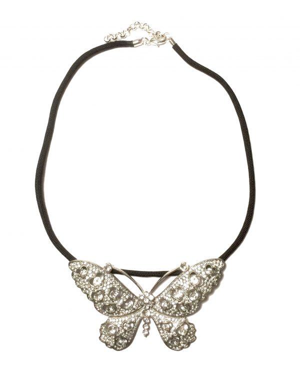 blank-sølv-sommerfugl-paracord-smykke