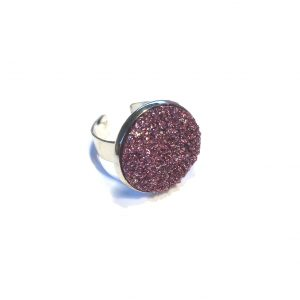 lilla-glitter-justerbar-onesize-ring