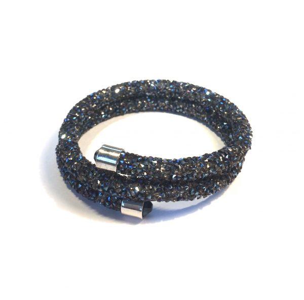 glitter-grå-onesize-armbånd
