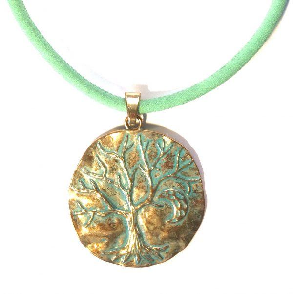 grønn-turkis-messing-smykke