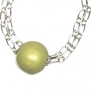grønn-tre-kraftig-smykke-halskjede