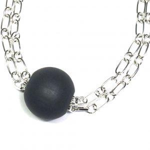 sort-tre-kraftig-smykke-halskjede