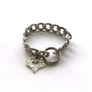 sølv-hjerte-kraftig-armbånd