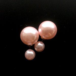 rosa-doble-øredobber-stor-kule-bak