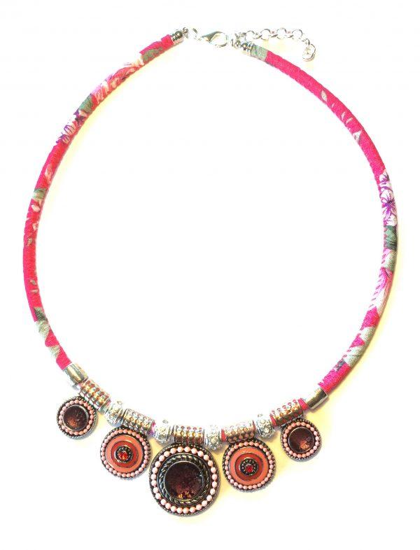 rosa-blomst-smykke