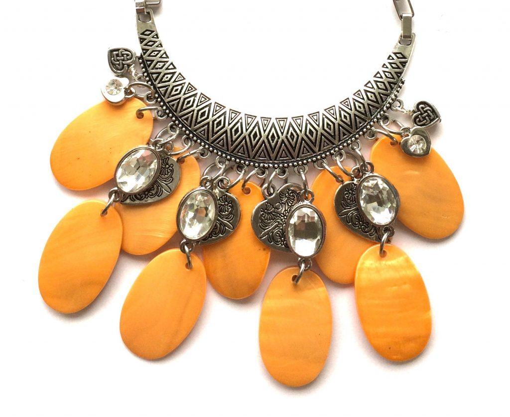 orange-perlemor-skjell-statement-smykke
