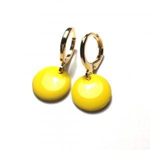 14K-gull-gul-ørepynt-øreanheng-øreringer