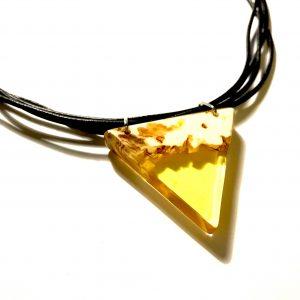 gul-triangel-lær-smykke