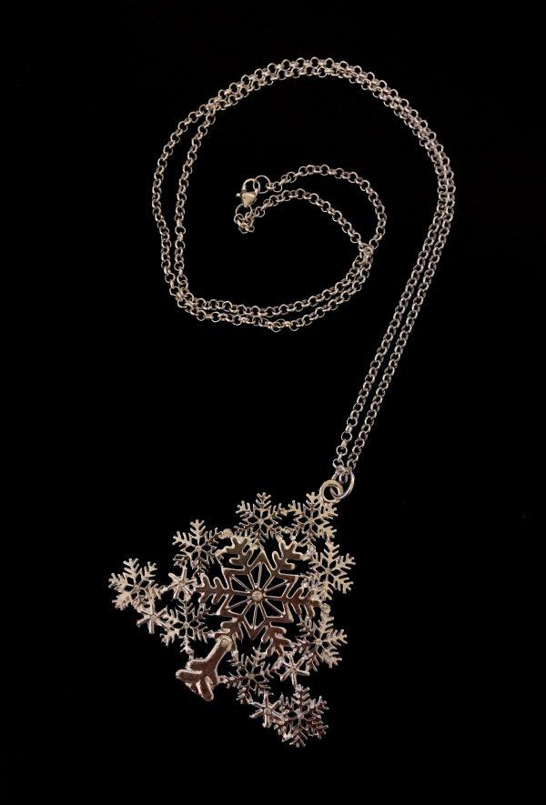 glitter-jul-tre-smykke-halskjede