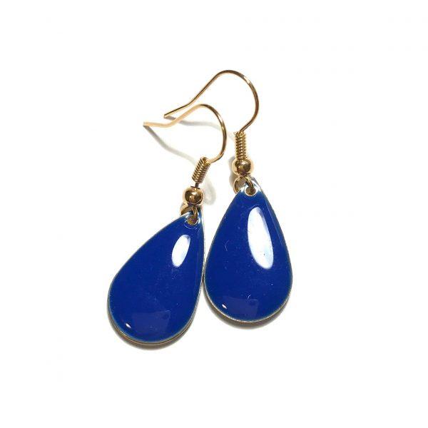 blå-dråpe-øreanheng-ørepynt
