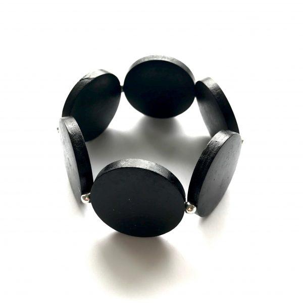 sort-elastisk-tre-armbånd