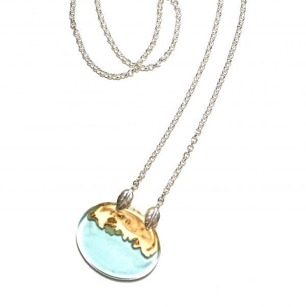 blå-tre-smykke-halskjede
