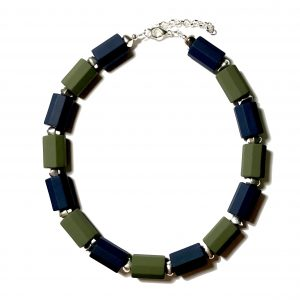 blå-grønn-statement-tøff-perle-smykke