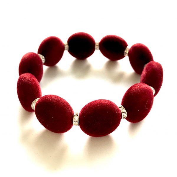 rød-velour-armbånd