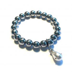 blodstein-hematitt-grå-perle-armbånd