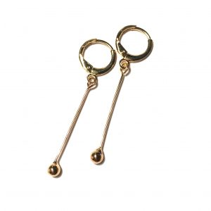 klassisk-enkel-gull-ørepynt-øreanheng