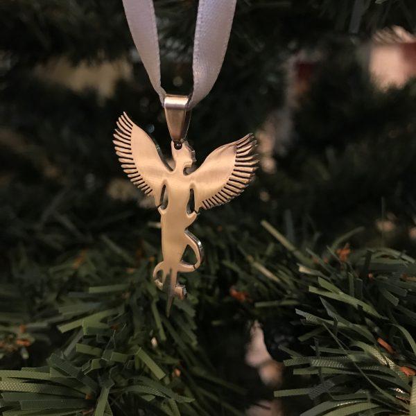 sølv-stål-engel-grå-juletrepynt-julepynt