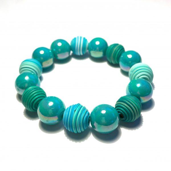 grønn-turkis-armbånd