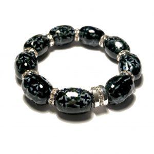 sort-blå-keramikk-sølv-armbånd