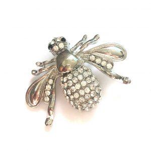 sølv-bling-bille-insekt-brosje-nål