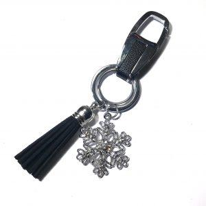 sort-snøkrystall-dusk-nøkkelring