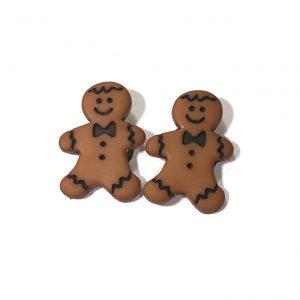 brun-pepperkake-mann-jul-øredobber-ørepynt