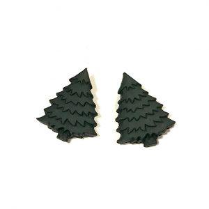 grønn-juletre-tre-øredobber-ørepynt