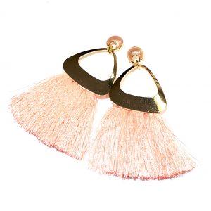 rosa-dusk-tassel-gull-øreanheng-ørepynt