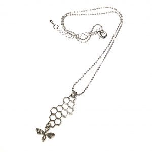 bie-insekt-smykke-halskjede
