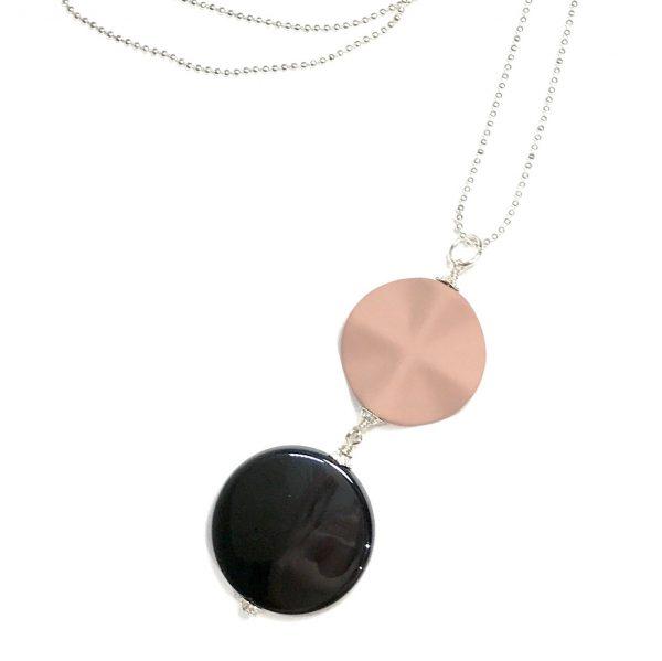 rosa-smykke-halskjede