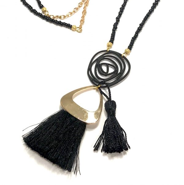 tøff-dusk-sort-smykke-halskjede