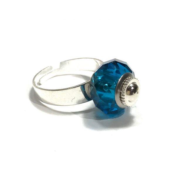 blå-turkis-justerbar-onesize-ring